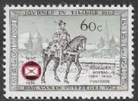 Belgium SG1997 1966 75th Anniversary of Royal Federation of Belgian Philatelic Circles 60c mounted mint